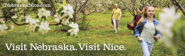 Visit Nebraska. Visit Nice. ad